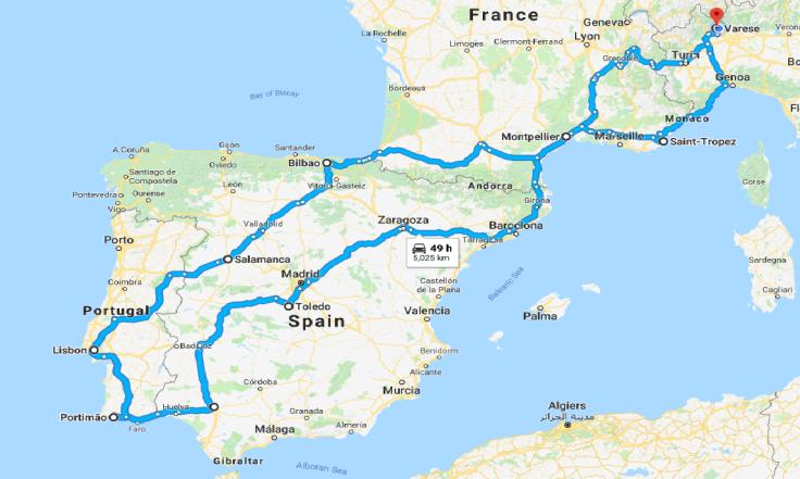 Itinerario portogallo
